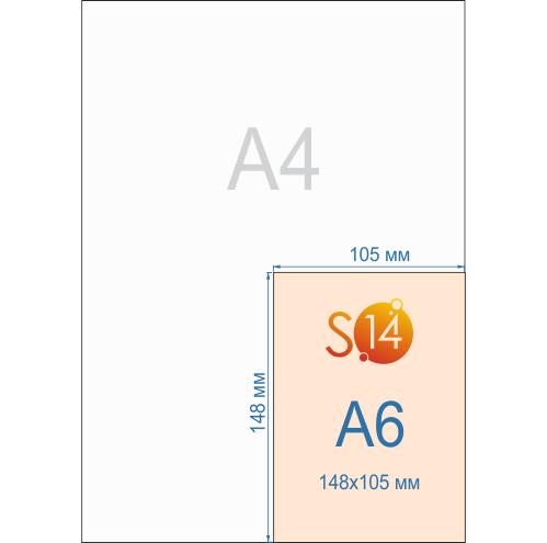 Флаеры формата А6