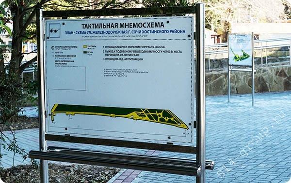 Уличный информационный щит